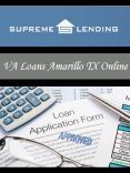 VA Loans Amarillo TX Online