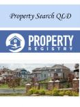 Property Search QLD