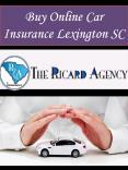 Buy Online Car Insurance Lexington SC