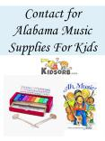 Contact for Alabama Music Supplies For Kids Online