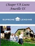 Cheaper VA Loans Amarillo TX
