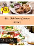 Best Baltimore Caterers Service