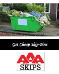 Get Cheap Skip Bins