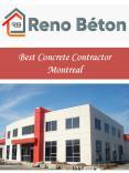 Best Concrete Contractor Montreal