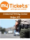 Commercial Driving License Tickets NY