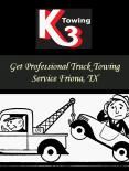 Get Professional Truck Towing Service Friona, TX