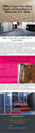 Office Carpet Tiles Dubai Supply and Installation in Dubai and Abu Dhabi