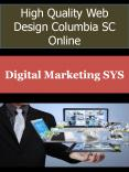 High Quality Web Design Columbia SC