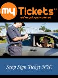Stop Sign Ticket NYC