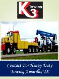 Contact For Heavy Duty Towing Amarillo, TX