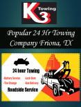 Popular 24 Hr Towing Company Friona, TX
