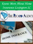 Know More About Home Insurance Lexington SC