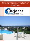 Beachfront Condos For Rent In Barbados