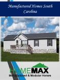 Manufactured Homes South Carolina