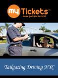Tailgating Driving NYC