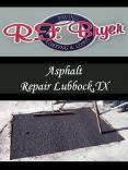 Asphalt Repair Lubbock,TX