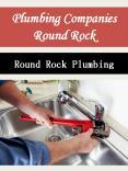 Plumbing Companies Round Rock