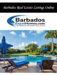 Barbados Real Estate Listings Online