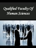 Qualified Faculty Of Human Sciences