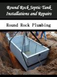 Round Rock Septic Tank Installations and Repairs