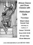 African Dance and Drum Classes with
