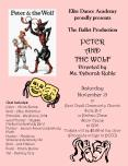 Elite Dance Academy proudly presents The Ballet Production PETER AND THE WOLF Directed by Ms' Debora