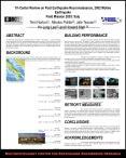 Tri-Center Review on Post Earthquake Reconnaissance, 2002 Molise Earthquake