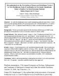 Mycophenolate in the Prevention of Recurrent Botulinum Toxin A or New Botulinum Toxin B Antibodies i