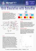 Grid Simulation with OptorSim