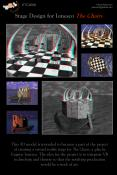 This 3D model is intended to become a part of the project of creating a virtual reality stage for The Chairs, a play by Eugene Ionesco. The idea for the project is to integrate VR technology and theatre so that the resulting production would be a work of