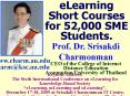 eLearning Short Courses for 52,000 SME Students'