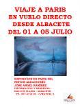 VIAJE A PARIS EN VUELO DIRECTO DESDE ALBACETE DEL 01 A 05 JULIO