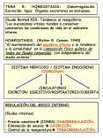 TEMA 8: HOMEOSTASIS: Osmorregulacin' Excrecin: tipos' rganos excretores en metazoos'