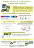 Ecologie et adaptation des insectes phytophages et gestion de leurs populations