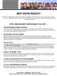 WHY ESPN RADIO