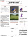 Are Some Golf Courses Better For Bluebirds Than Others