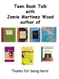 Teen Book Talk with Jamie Martinez Wood author of