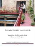 Developing Affordable Space for Artists