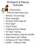 K9 Search