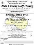 Deputy Sheriffs Association of Michigan DSAM 2009 Charity Golf Outing Public Safety Scholarship Fund
