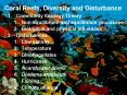 Coral Reefs, Diversity and Disturbance