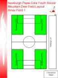 Newburgh PepsiCola Youth Soccer Mountain Dew Field Layout Amax Field 1