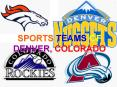 SPORTS TEAMS OF DENVER, COLORADO