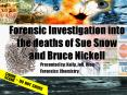 Forensic Investigation into the deaths of Sue Snow and Bruce Nickell