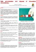 Safe administration and disposal of intravesical chemotherapy