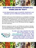 Access departments can successfully implement and maintain upfront collection policies that work'