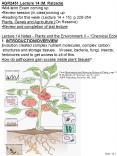 AGR2451 Lecture 14 M. Raizada