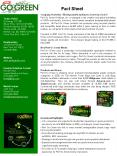 Company Overview. Biodegradable by Nature, Green by Choice