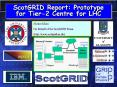 ScotGRID Report: Prototype for Tier2 Centre for LHC