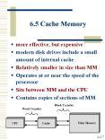 6'5 Cache Memory